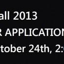 Calling All Applicants!