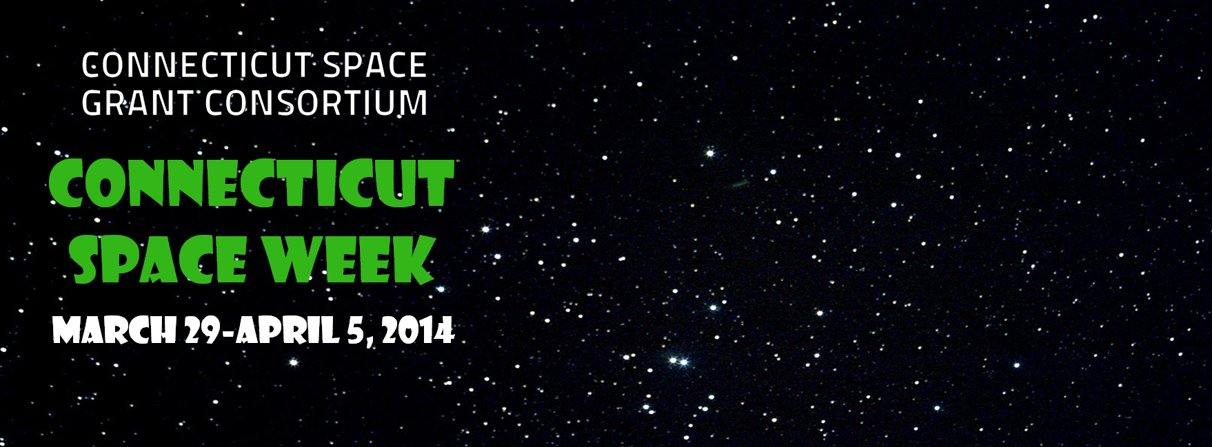CONNECTICUT SPACE WEEK 2014!