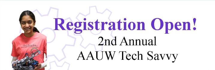 Tech Savvy: Registration Open!