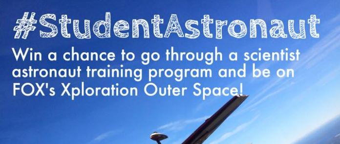 Xploration Outer Space: #StudentAstronaut Contest Open!