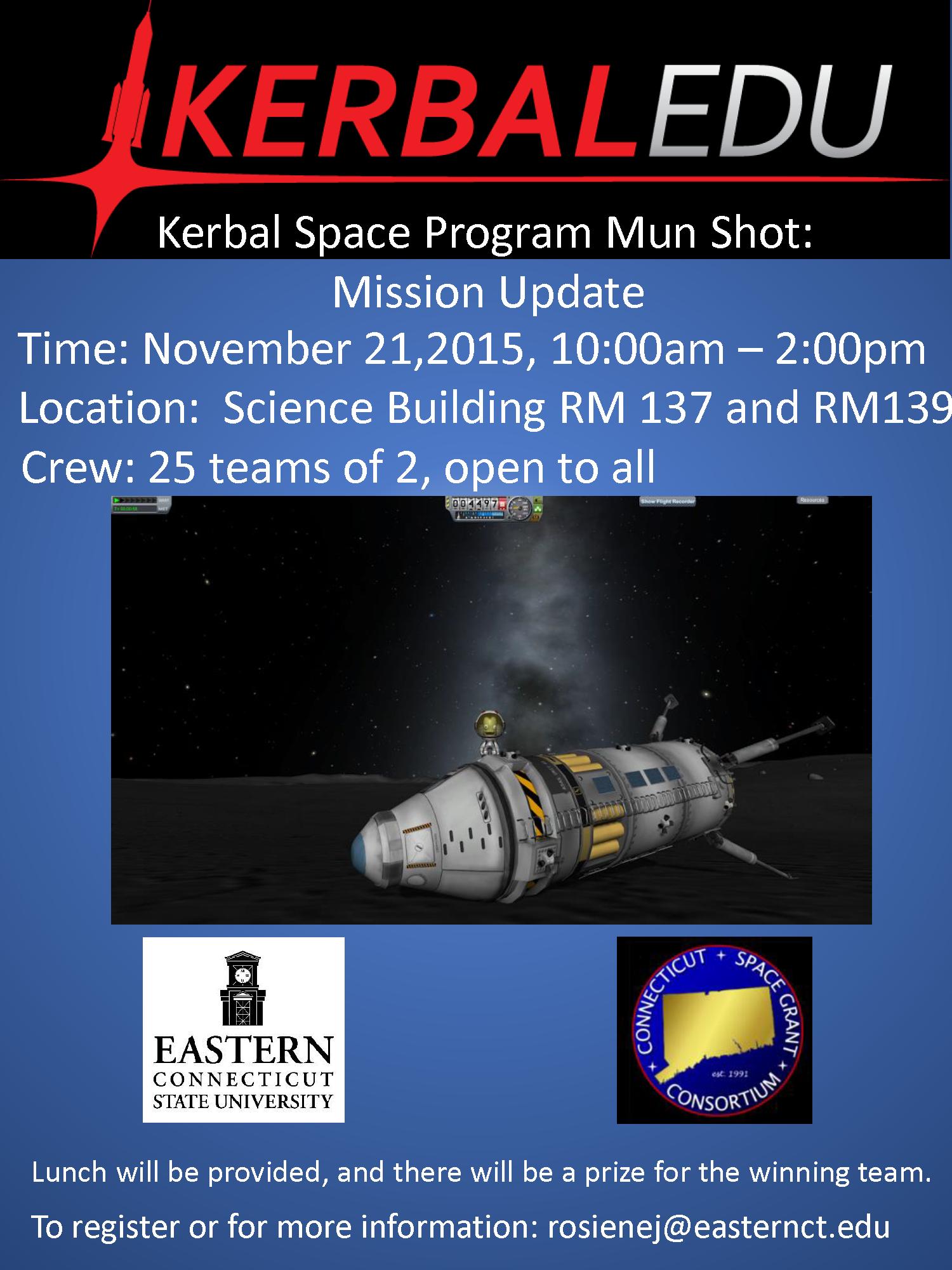 Kerbal Space Program Mun Shot Competition   Connecticut Space Grant