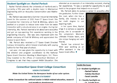 Fall 2012 Newsletter Preview