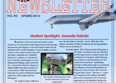 Spring 2015 Newsletter Preview