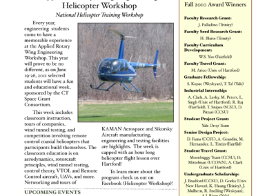 Spring 2011 Newsletter Preview