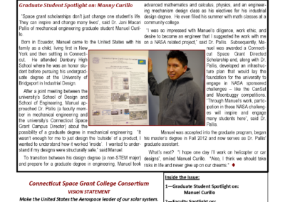 Spring 2013 Newsletter Preview