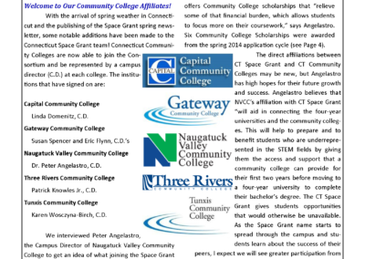 Spring 2014 Newsletter Preview