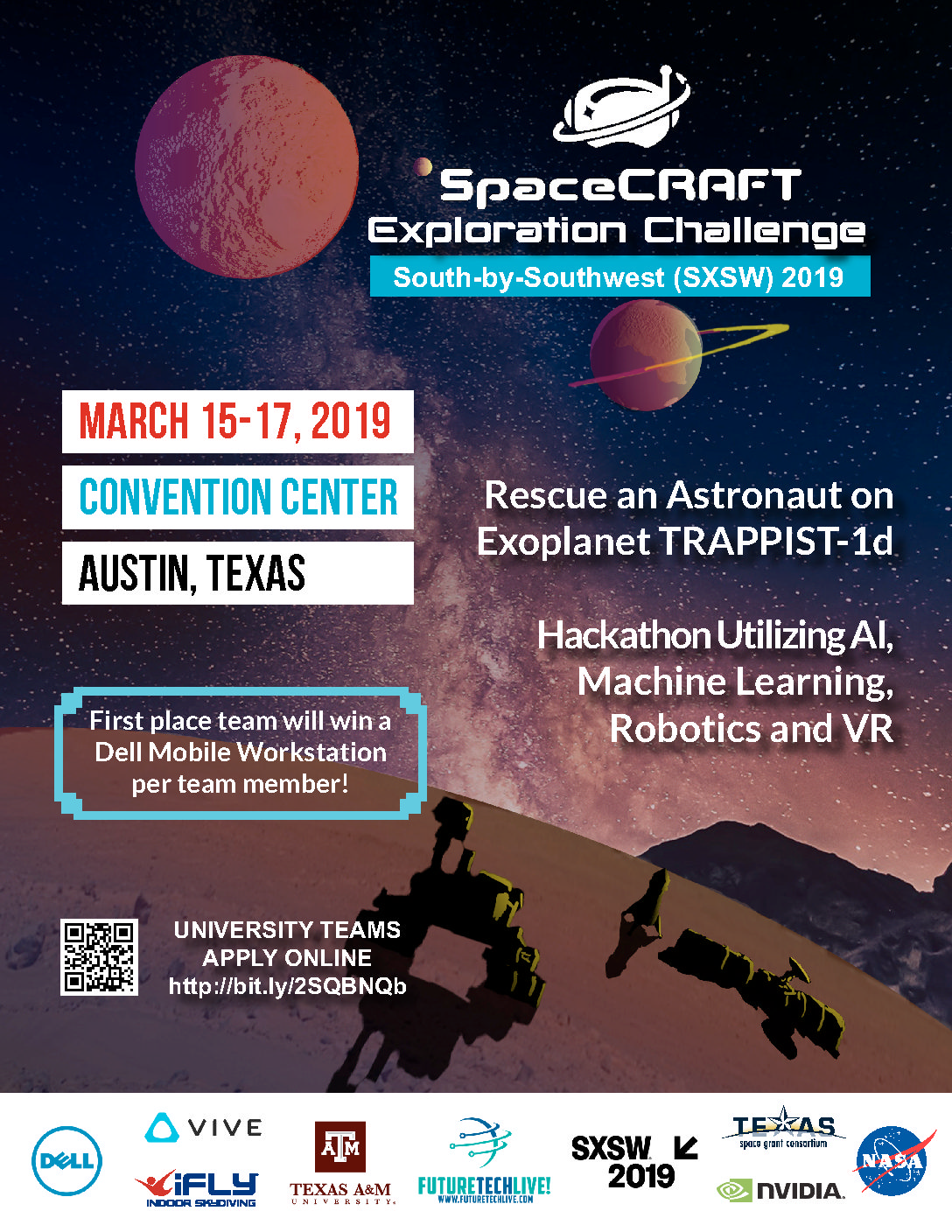 SpaceCRAFT Exploration Challenge at SXSW