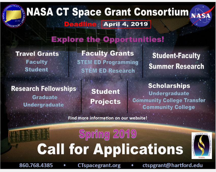 Spring 2019 Call for Applications!